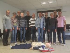 Premiers secours cyclo club samedi 23 avril 2016 001